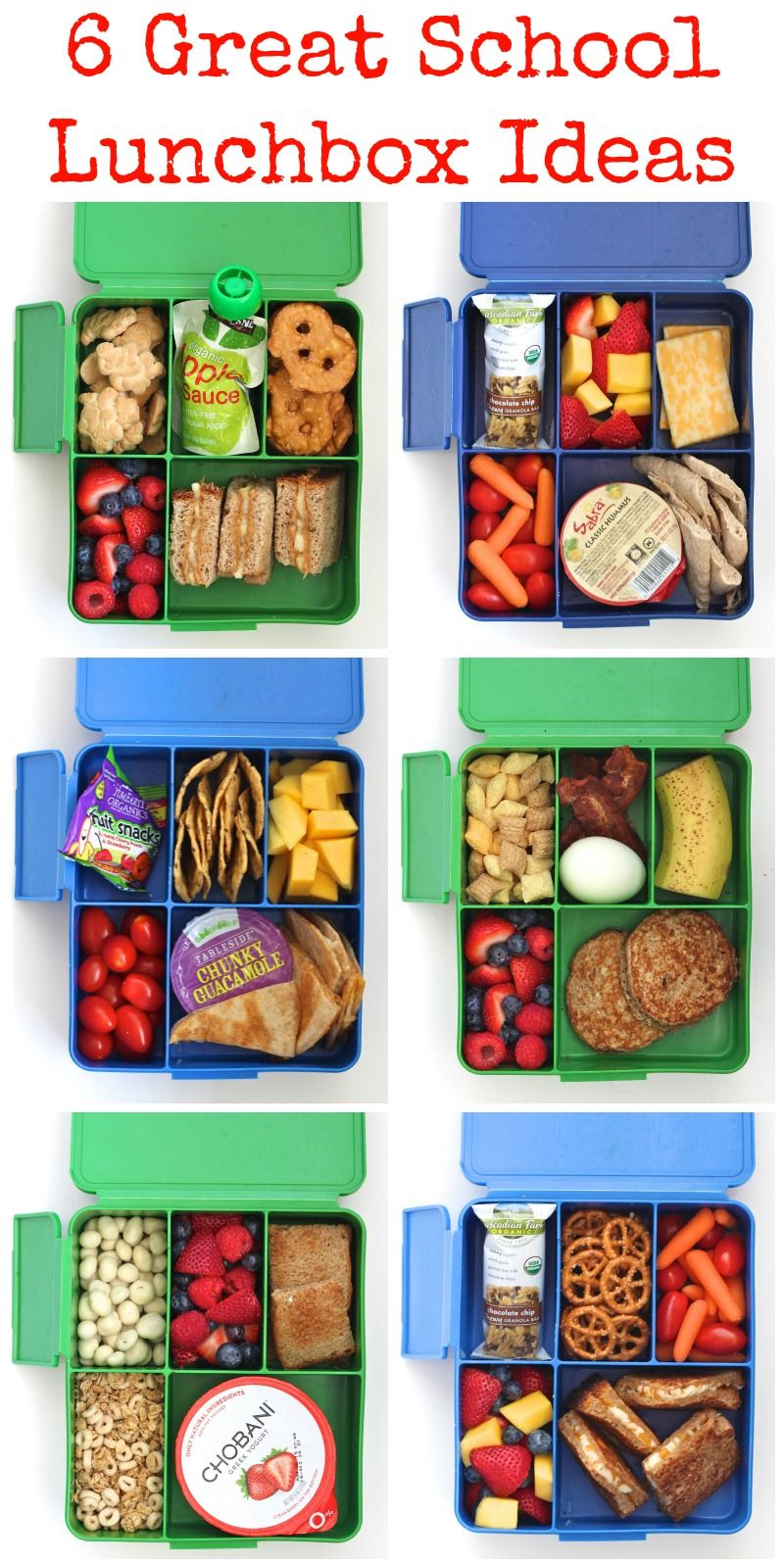 6 Great School Lunchbox Ideas | The BakerMama