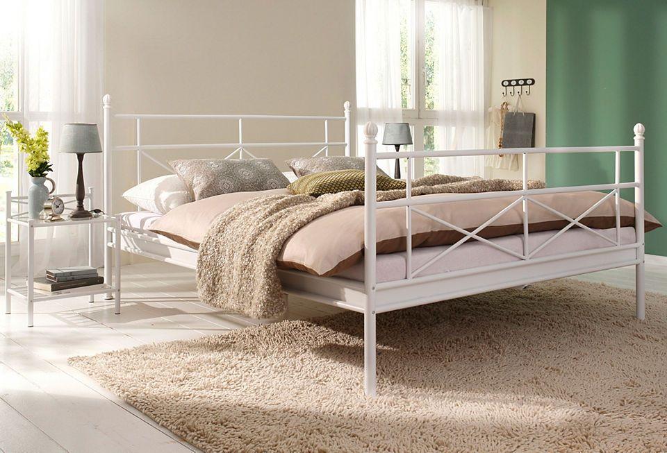 Metallbett, Home affaire, »Thora« Jetzt bestellen unter   - schlafzimmer mit metallbett