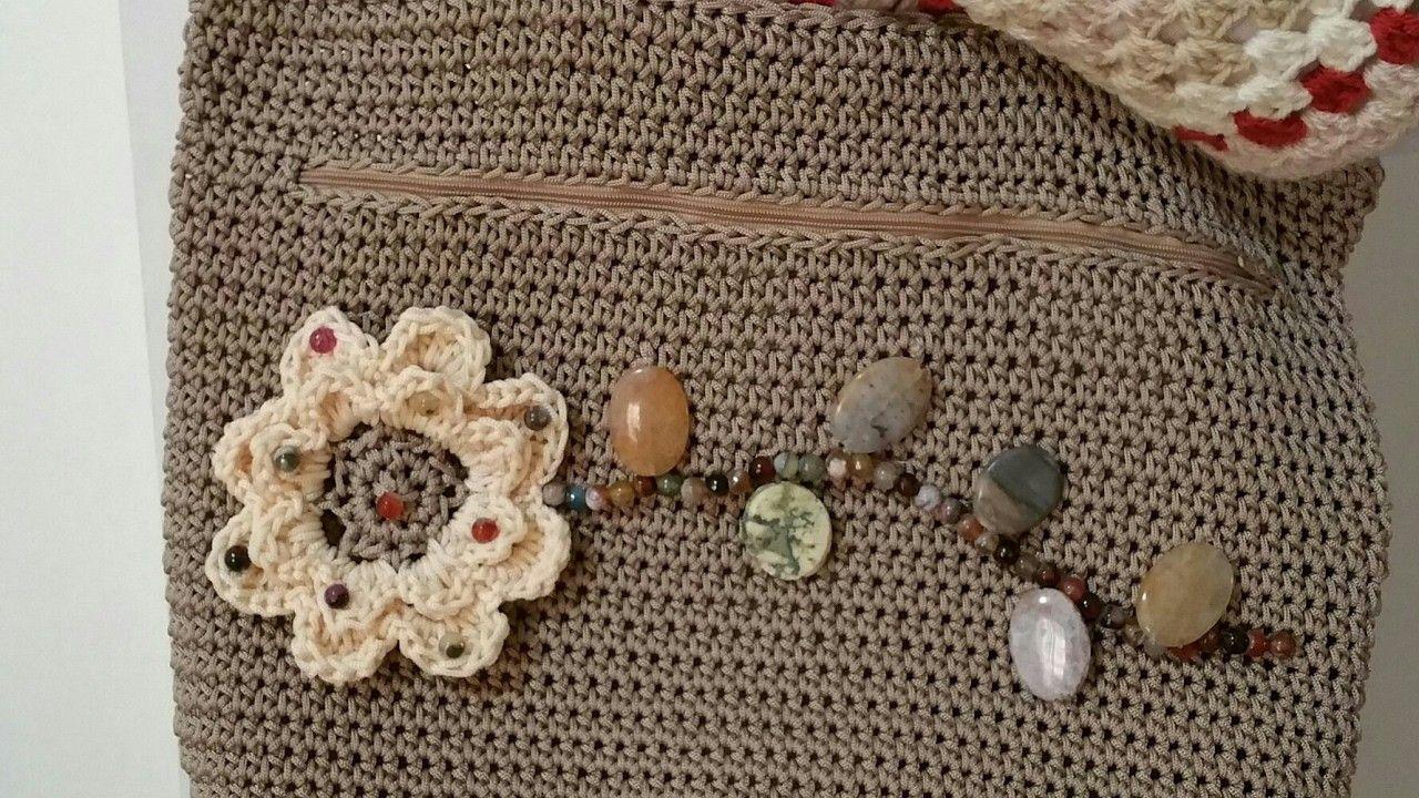 "Borsa ""Marika"".Crochet Bag.tutorial uncinetto"