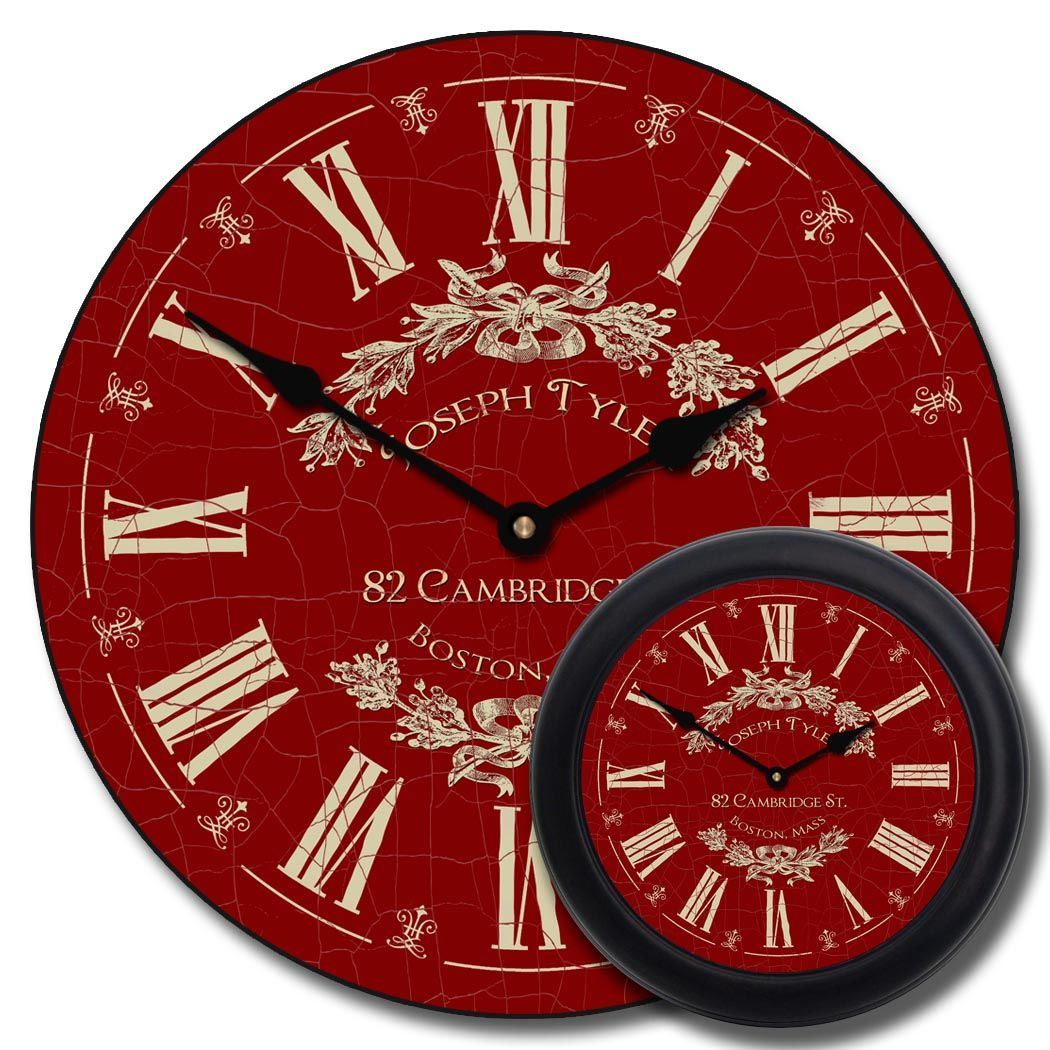 These are Quiet Nonticking small and large wall Clocks