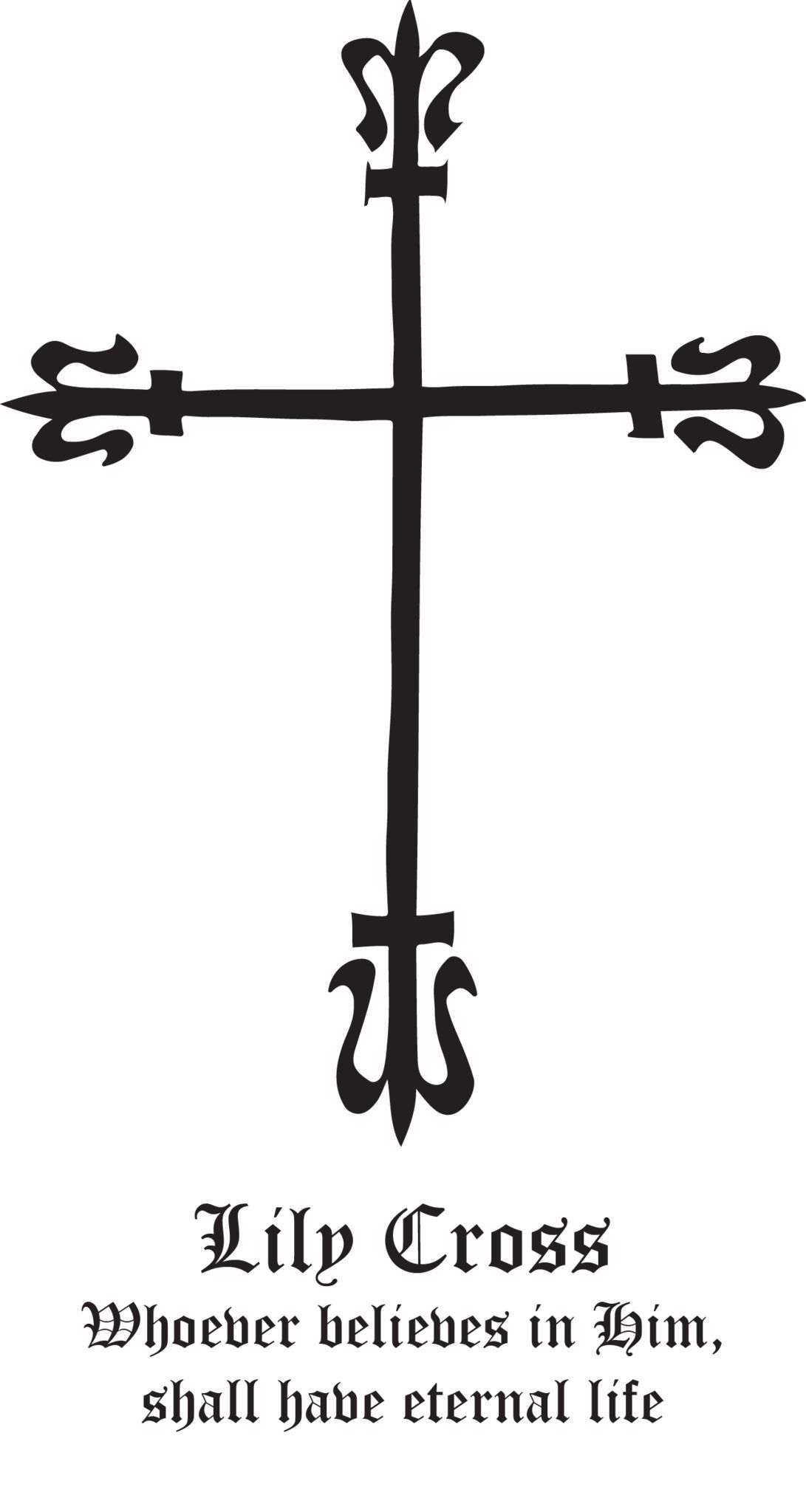 Rudolf koch christian symbol 120 lily cross symbols show your support for your faith with rudolf kochs christian symbols these gorgeous and eternally hand drawn skillfully crafted christian symbols are biocorpaavc Gallery
