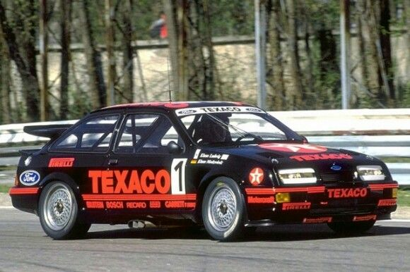 Cosworth Twin Cam Swapped Merkur Xr4ti Bring A Trailer This Merkur Xr4ti Is One Of Few Rs500 Style Conversions We Hav Ford Motorsport Ford Racing Ford Sierra