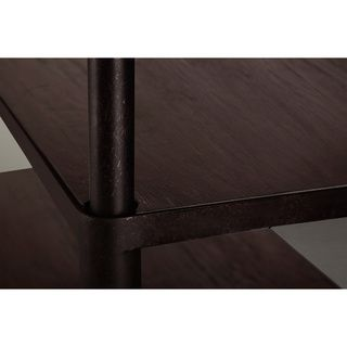 Renate Bookcase Coffee Finish Ping Great Deals On Media Bookshelves