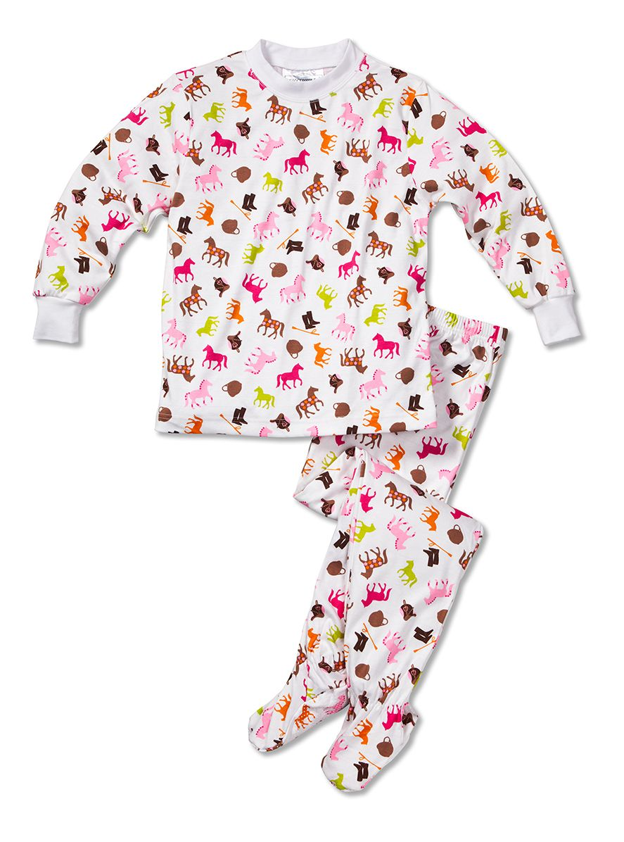 Sweet Potatoes Fuchsia Star Pajama Set - Girls | Pajama Set ...