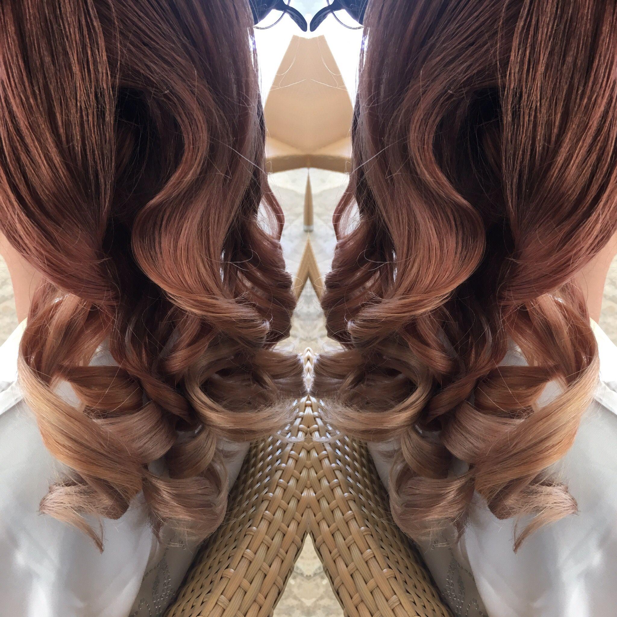 Rose Gold Blend Keune Love Hair Long Hair Styles Hair Styles