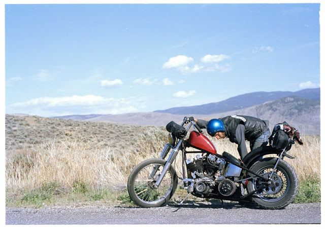 GasCap Motor's Blog: 70's Bobbers, a way of live: Some pictures from Scott Pommier