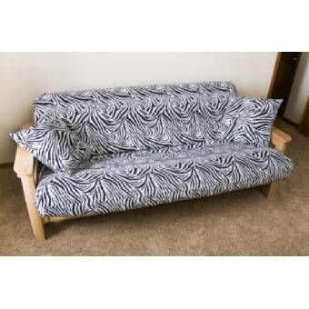 Royal Heritage Home Futon Cover Set Only 49 95 From Sierratradingpost Com Originally 129 Dollars To Bad Chris Won T Like The Zebra Print