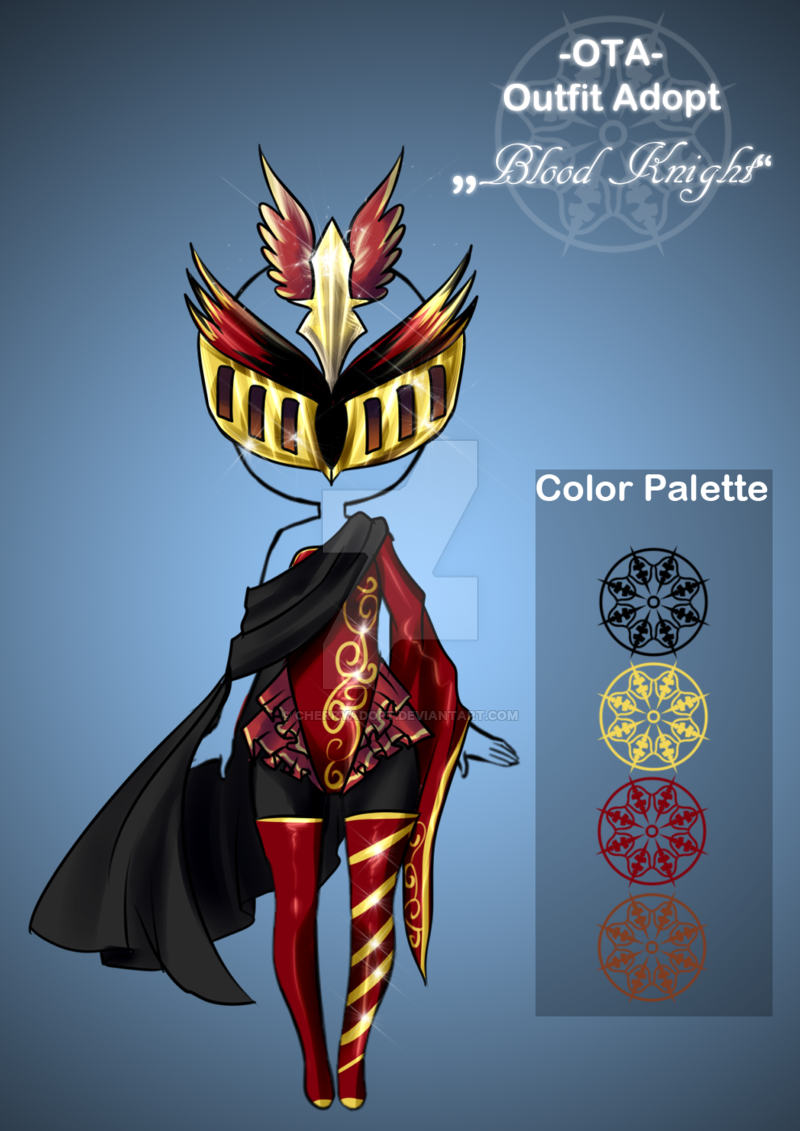 (open) Offer to adopt - Blood Knight by CherryAdopt