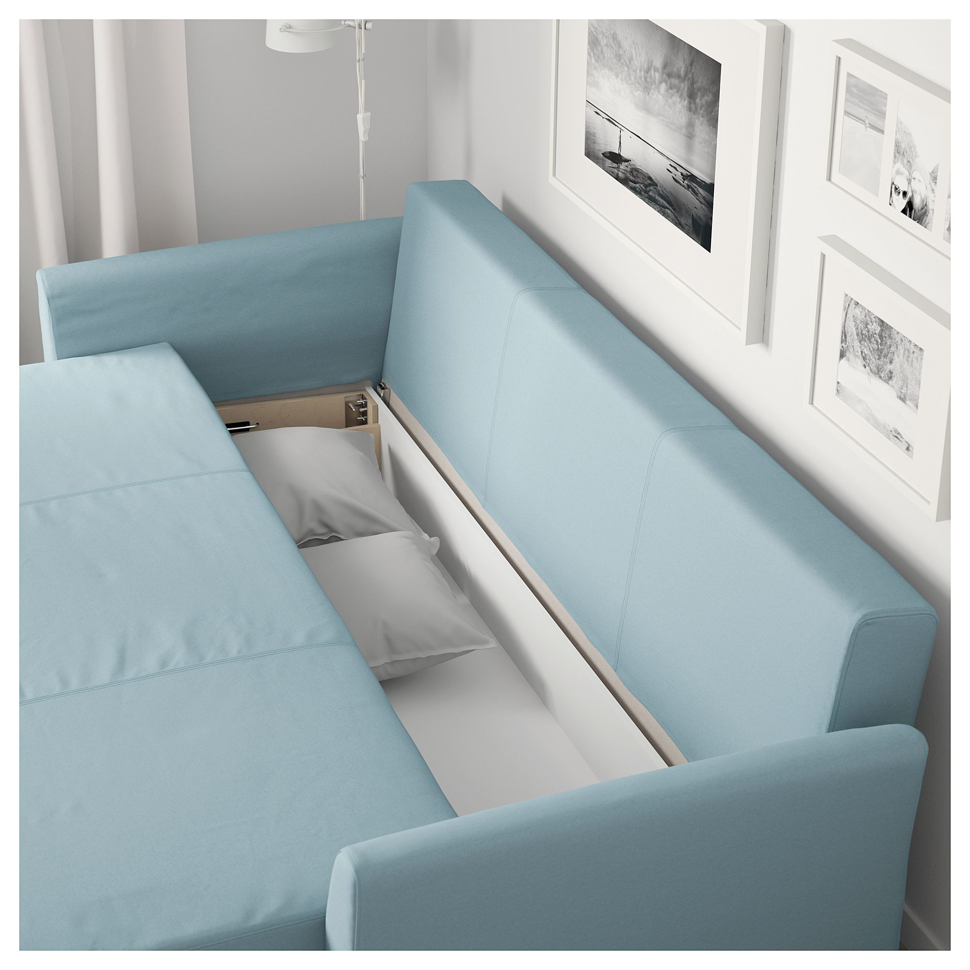 Holmsund Sofa Bed Orrsta Light Blue Ikea Sofa Bed Ikea Bed Sofa Bed Frame