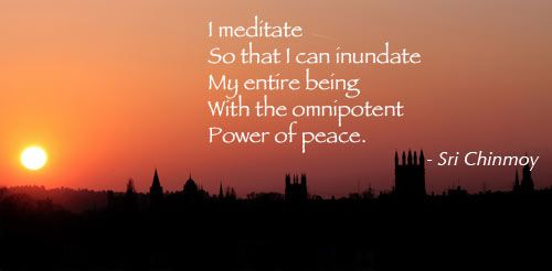 Meditation Quotes Meditation Quotes  Poet Seers » Quotes On Meditation  My Life .