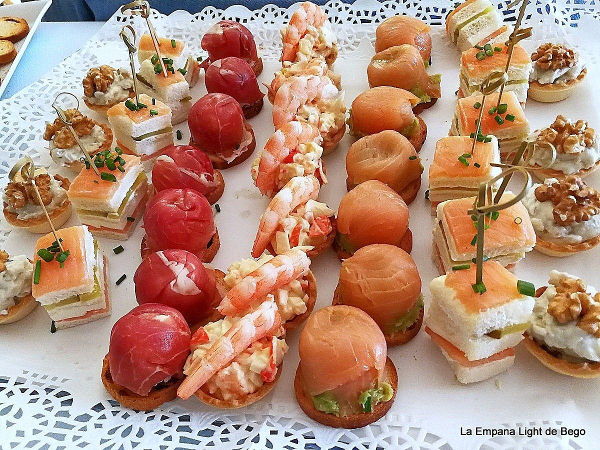 Canap s variados frios f ciles y r pidos aperitivos - Platos originales y sencillos ...