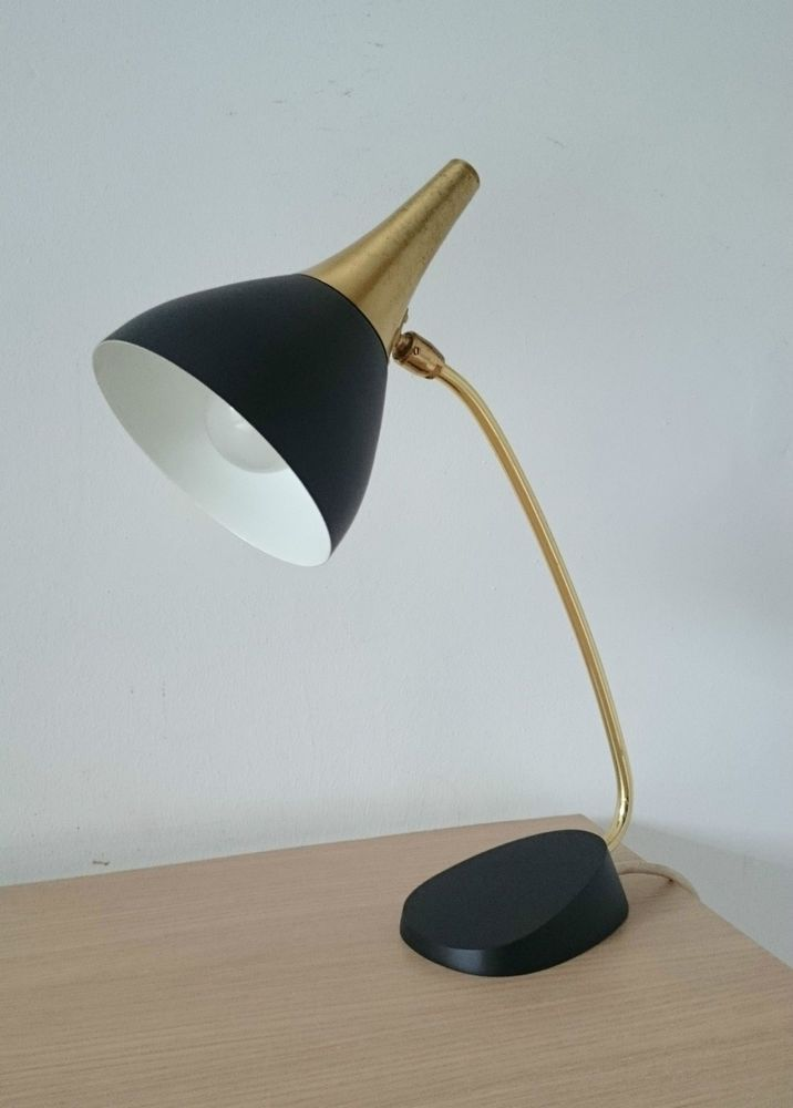 1950s Vintage Stilnovo Desk Lamp Eames Arteluce Retro Desk Lamp Lamp Antique Lamps