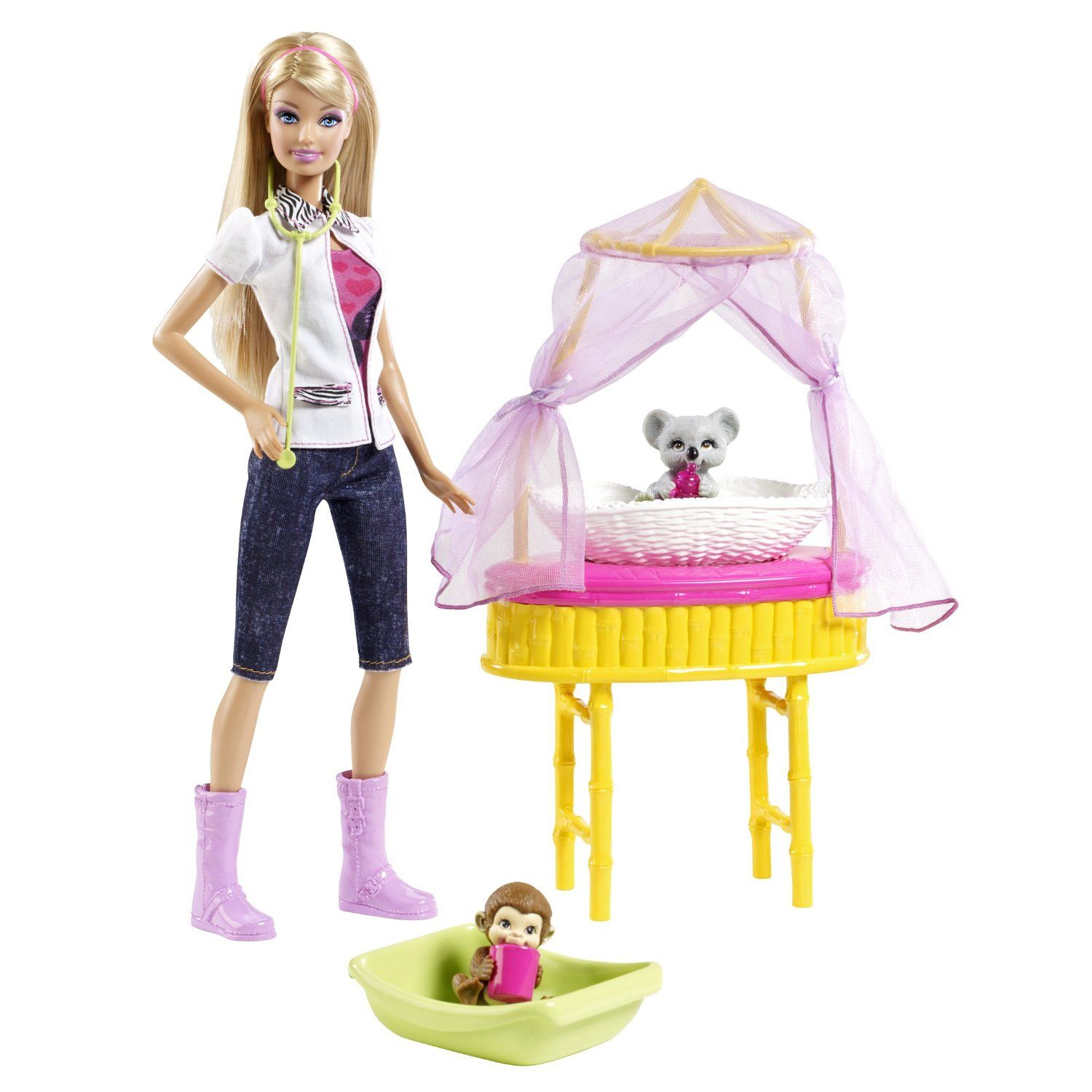 Barbie I Can Be Zoo Doctor Avec Images