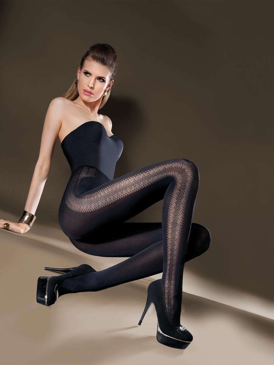 Black bustier, black jeweled heels, & Gabriella Inga ...