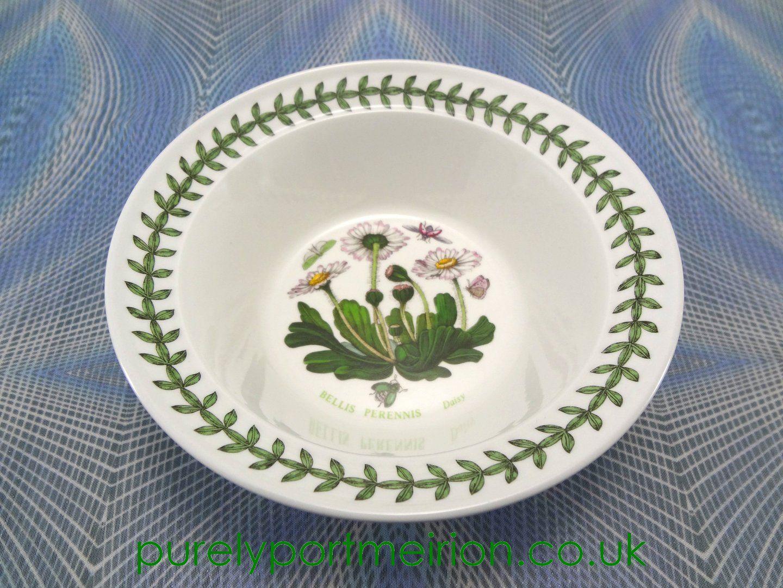 Portmeirion Botanic Garden Oatmeal Bowl, Daisy Botanical