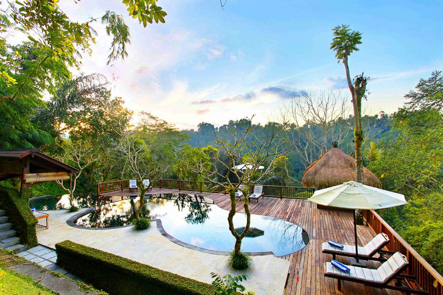 Piscina del Nandini Bali Jungle Resort & Spa – Bali