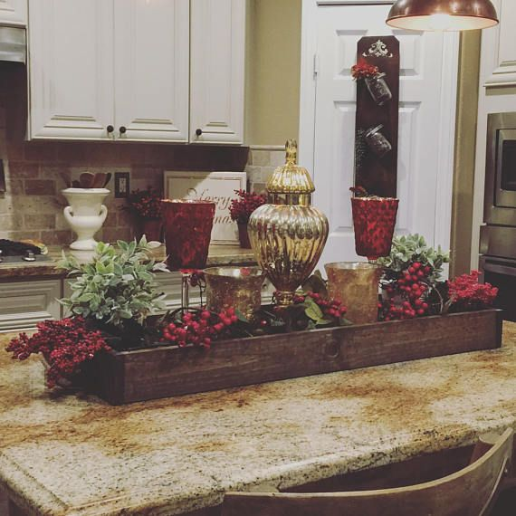 Large Centerpiece Counter Table Box Products In 2019 Large