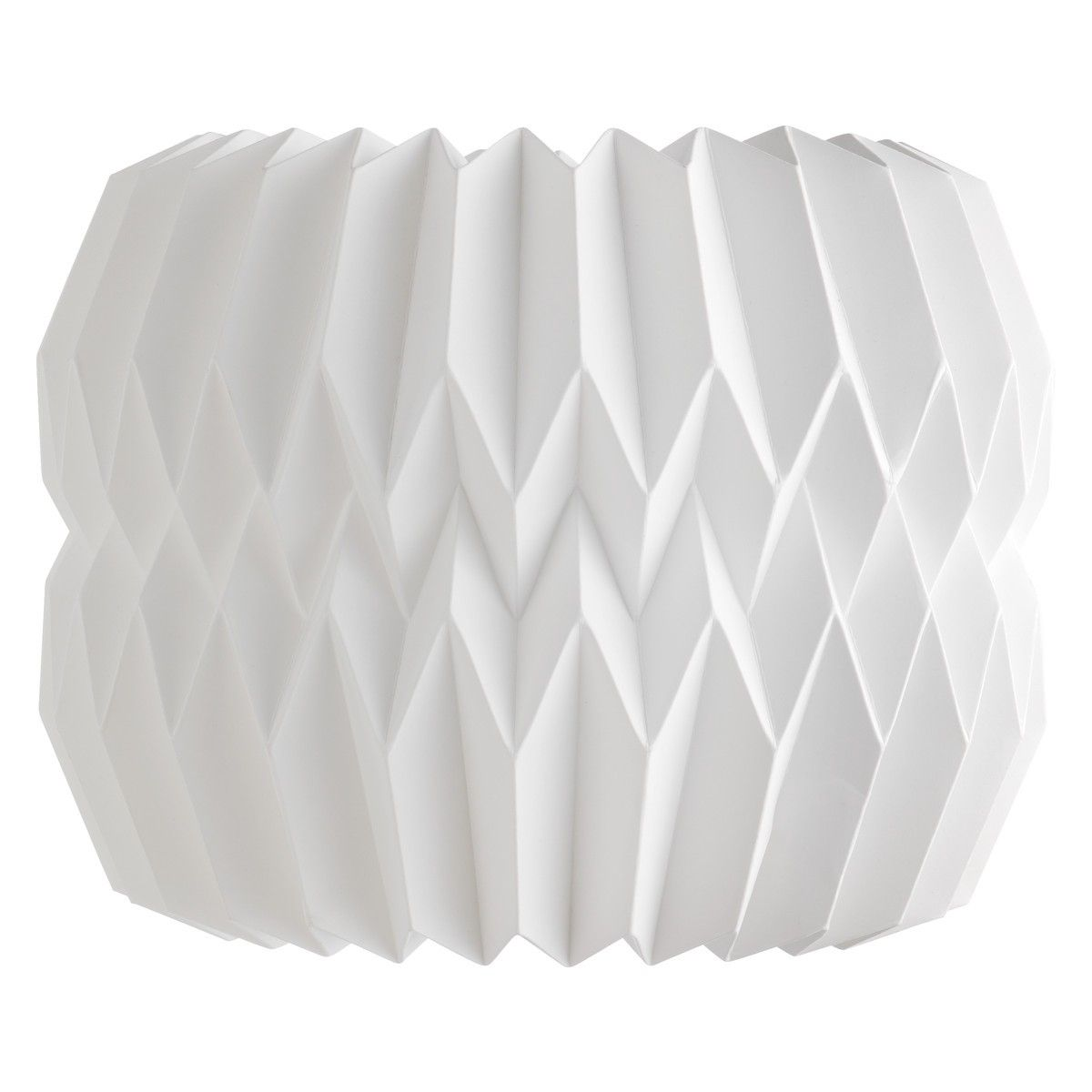 KURA Small white lampshade
