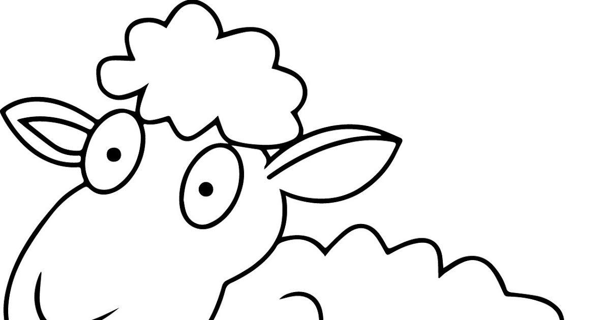 23 Gambar Kambing Kartun Hitam Putih Di 2020 Dengan Gambar Kartun Gambar Kambing