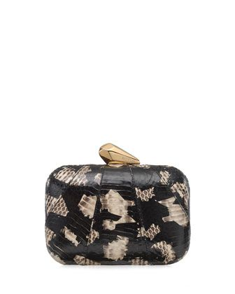 610e7be937d Morley Snakeskin Clutch Bag Black/Natural in 2019   It's in the BAG ...