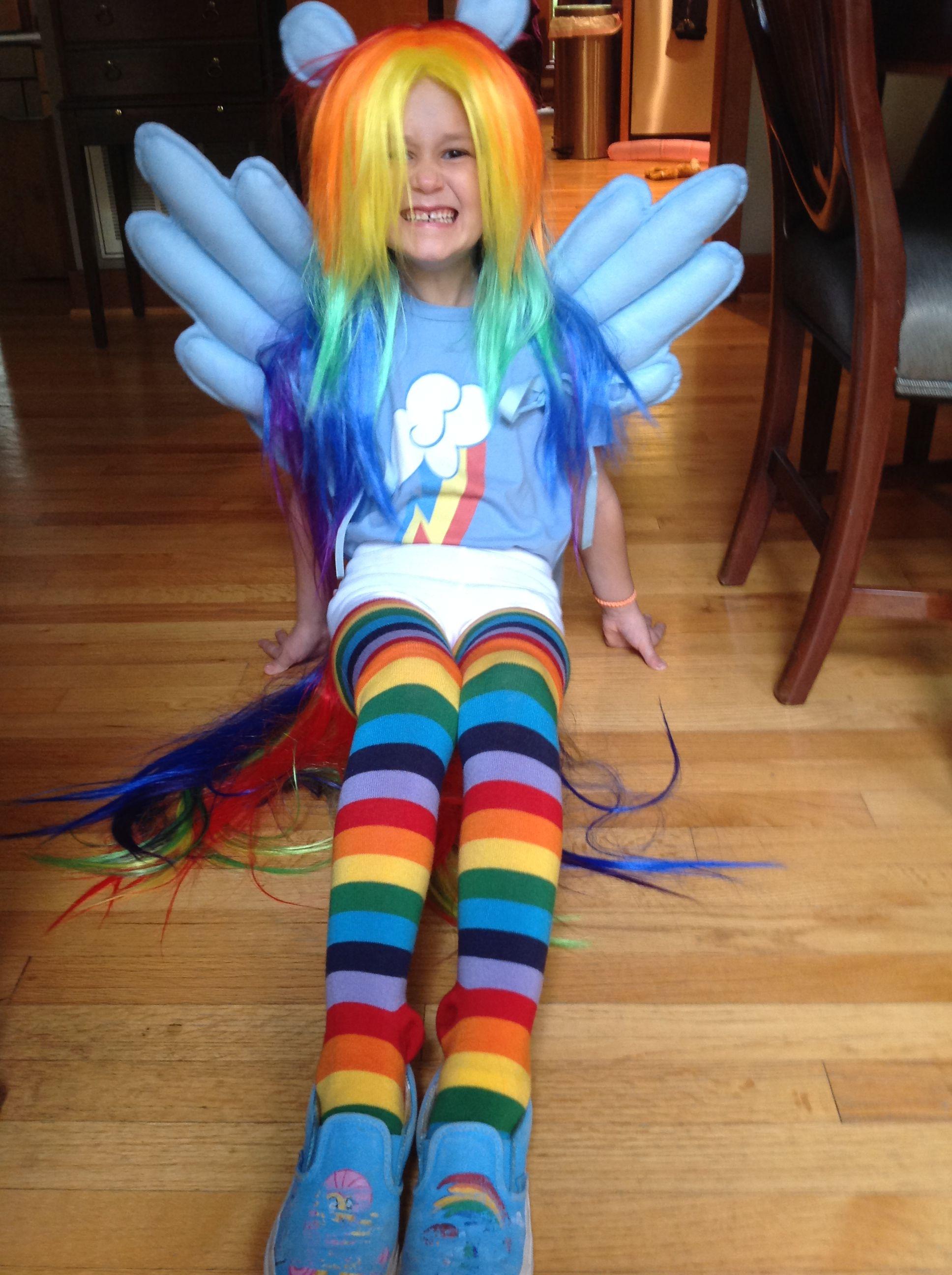 Pony Costume Ideas Rainbow Dash Costume My Little Pony Rainbow Dash Costume