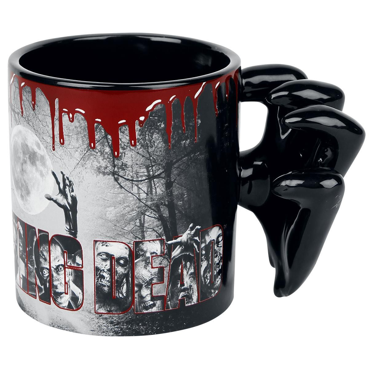 Molded Zombie Hands - Taza por The Walking Dead | Kitchen ware ...