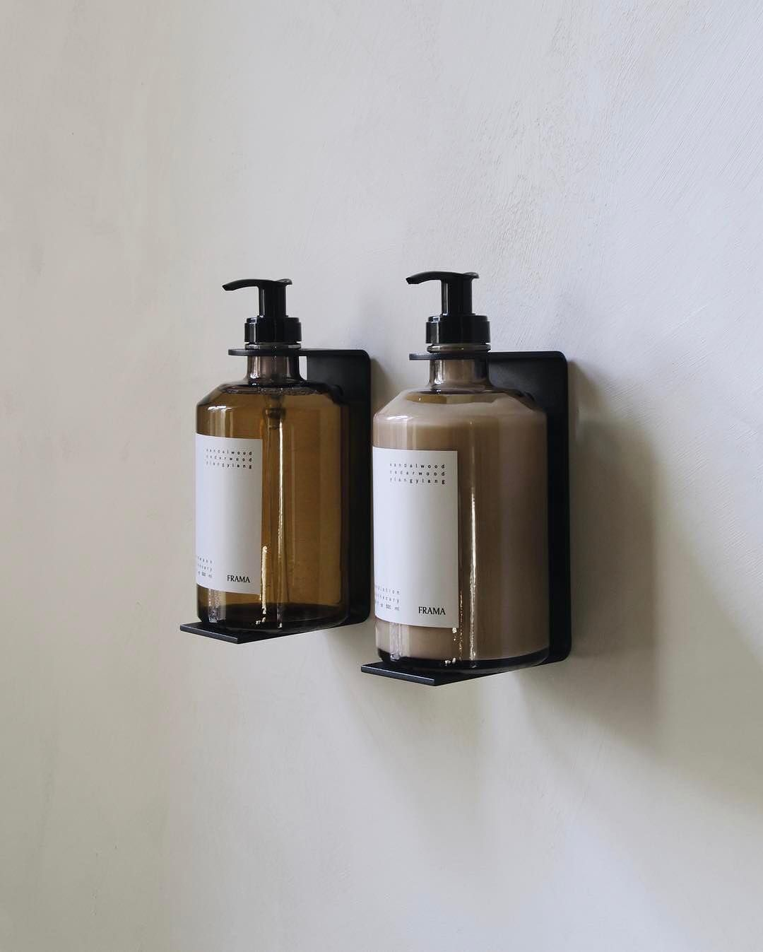 4 177 Likes 29 Comments Frama Framacph On Instagram Back In Stock Apothecary Hand Wash Wall Dis Bathroom Storage Small Bathroom Small Space Bathroom