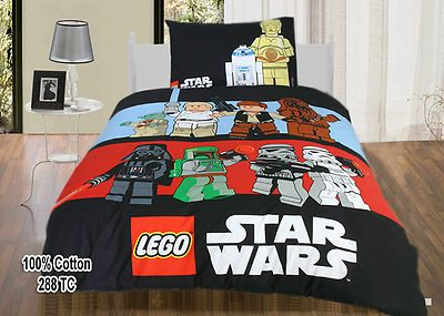 Lego Star Wars Single Quilt Duvet Cover Set Pure Cotton 288tc Brand New Duvet Cover Sets Quilted Duvet Cover Single Quilt