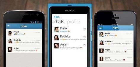 Hike Messenger Android App (APK File) Free Download. Credits: DeveloperX @  www