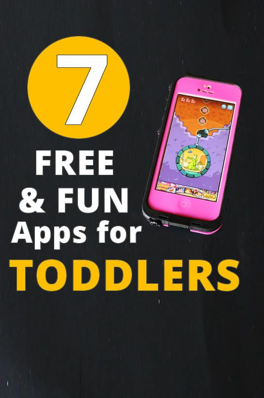 7 Free, fun and educational apps for toddlers apps