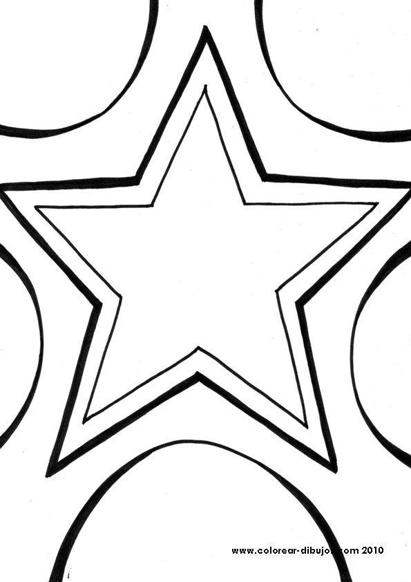 dibujos de estrellas para colorear.Estrellas dibujos para imprimir ...