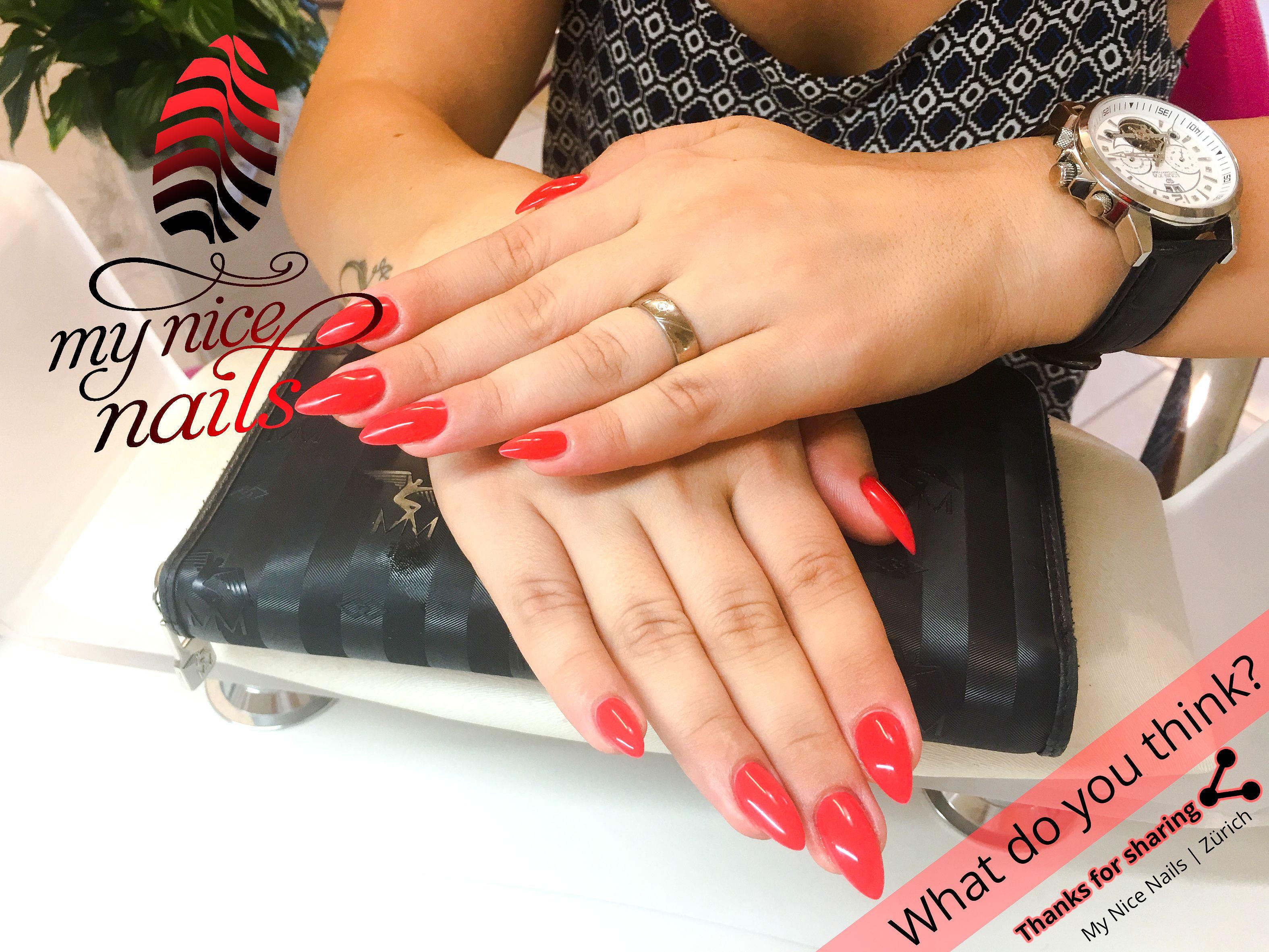 Red Seduction – Nail Design | Nail Art by My Nice Nails ...