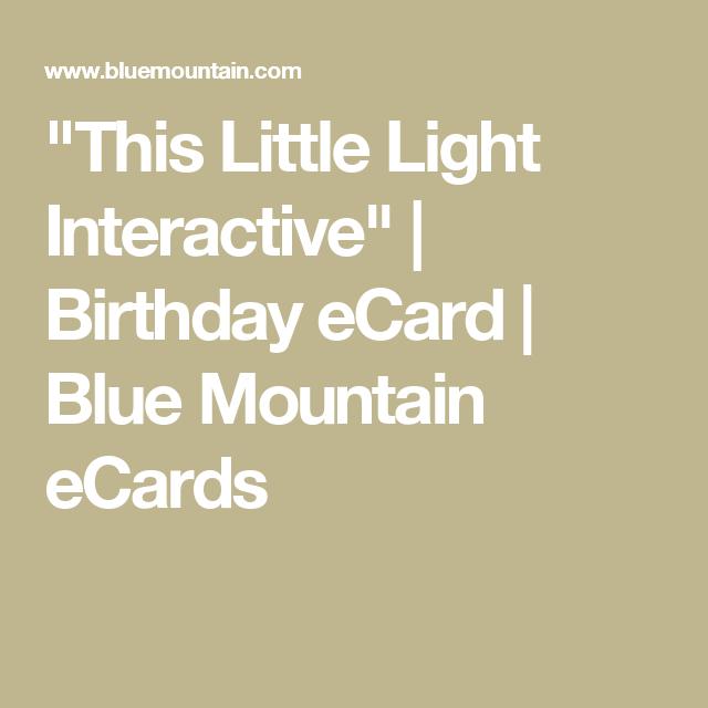 This Little Light Interactive