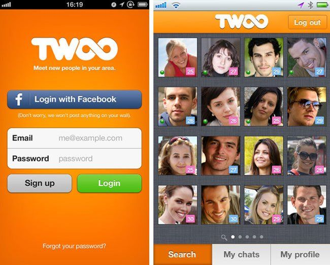 Signup Twoo Dating Site