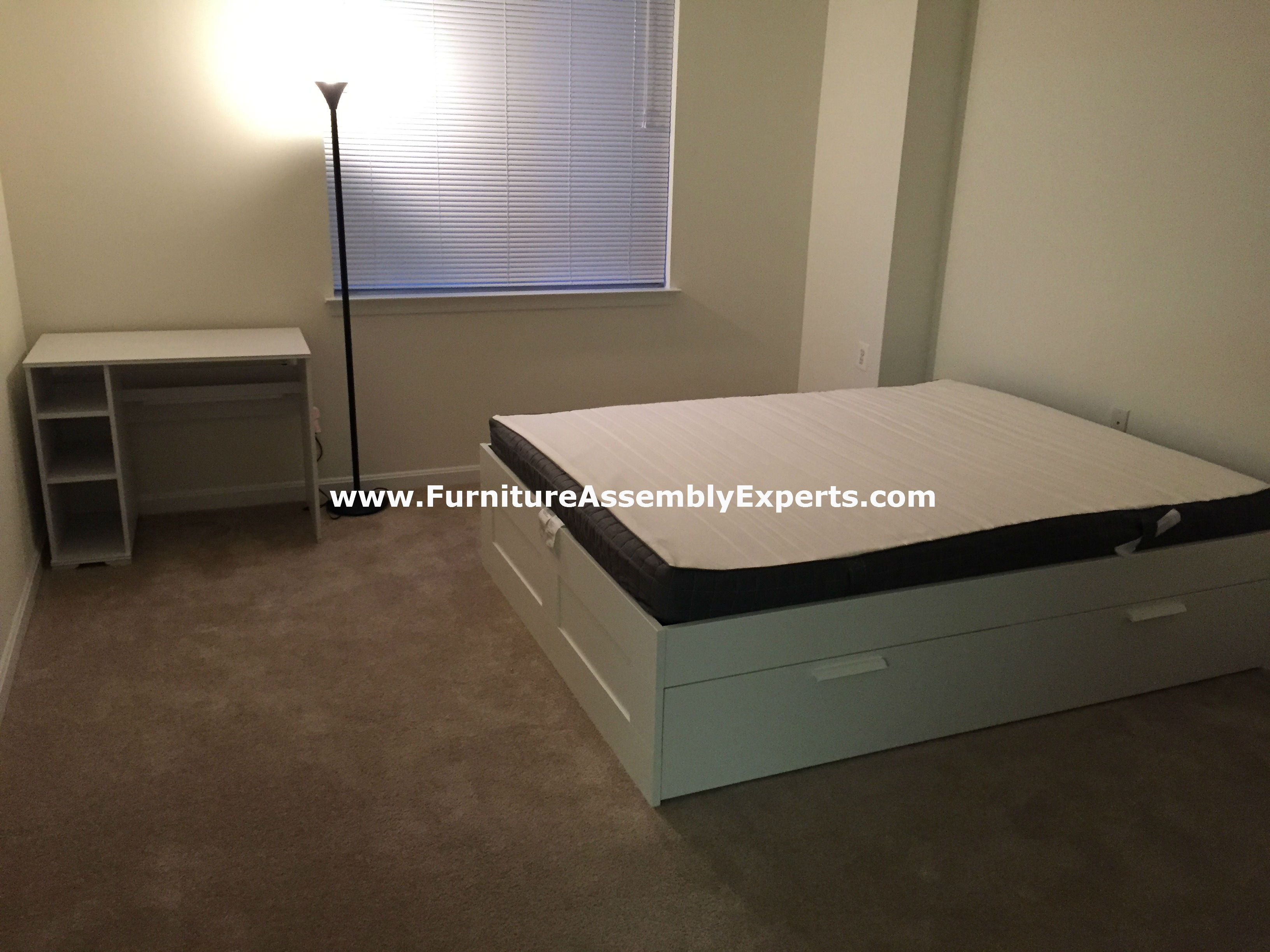 Ikea Brimnes Storage Bed And Desk Assembled In Capitol Heights MD By  Furniture Assembly Experts LLC