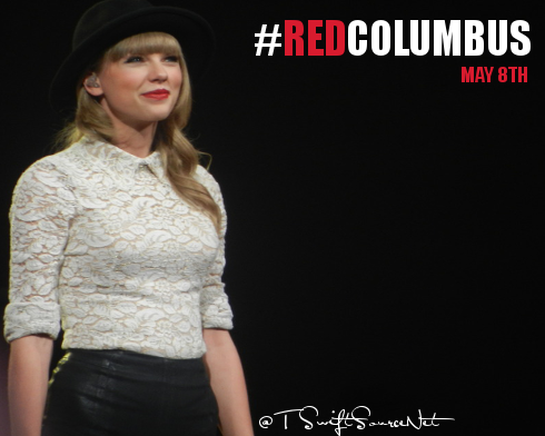 Taylor Performs In Columbus Ohio Taylorswiftsource Net Taylor Swift Red Tour Taylor Swift Red Taylor Swift