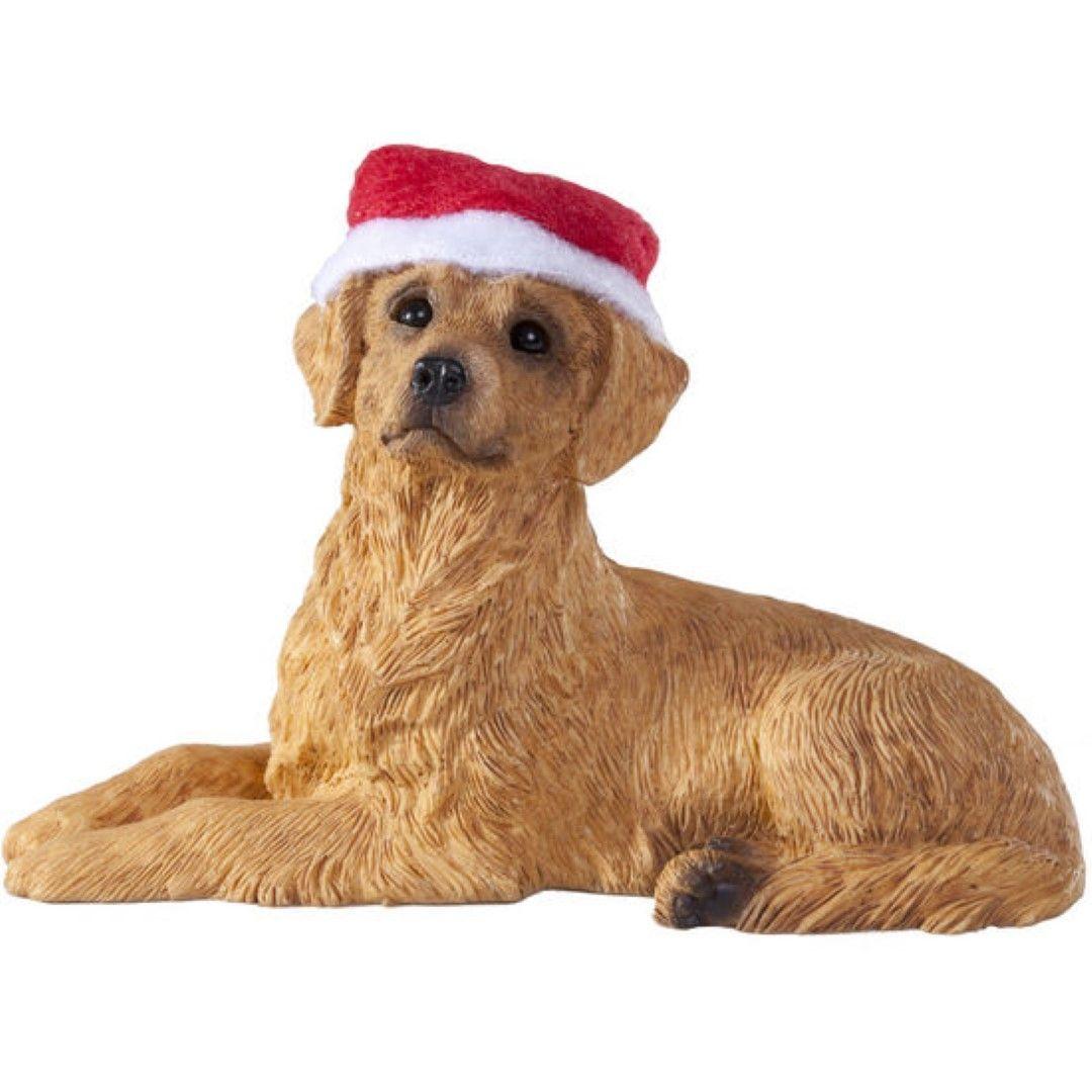 Lying Golden Retriever Ornament Christmas Dog Dog Ornaments
