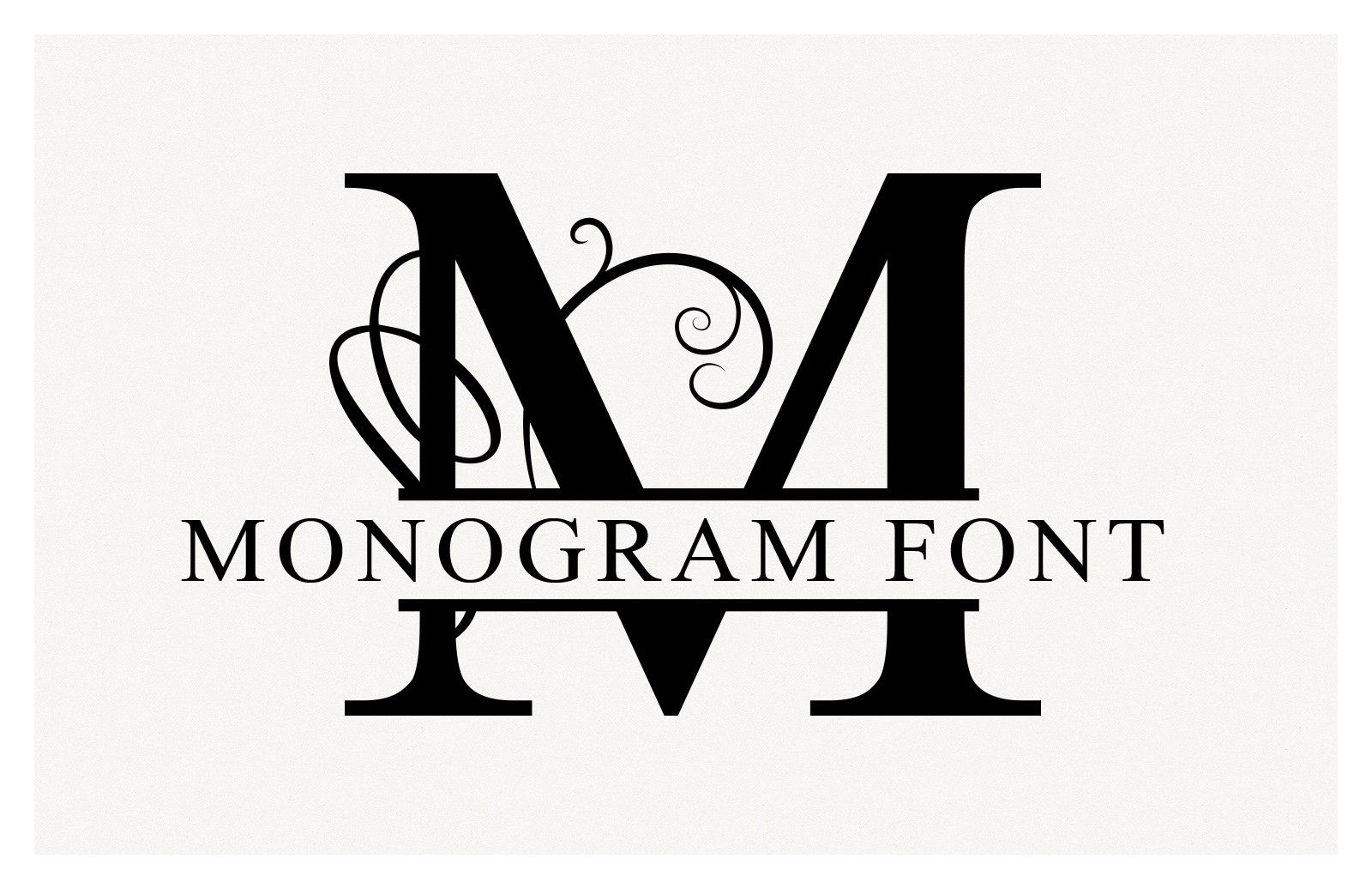 21+ Split letter monogram cricut inspirations