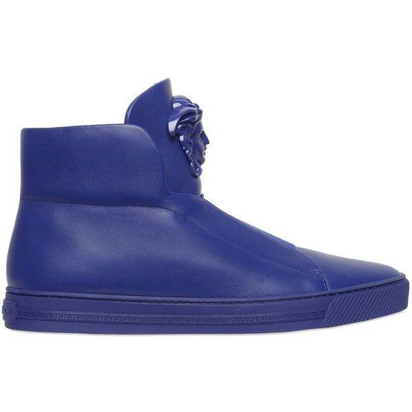 Versace mens shoes, Mens high top shoes