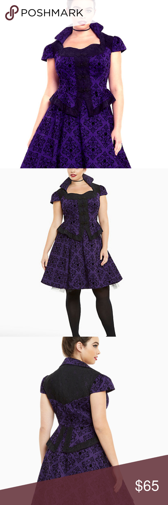 20838e27a3b Torrid Once Upon A Time Regina Swing Dress