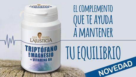 Triptofano Magnesio Y Vitamina B6 Ana Maria Lajusticia 60