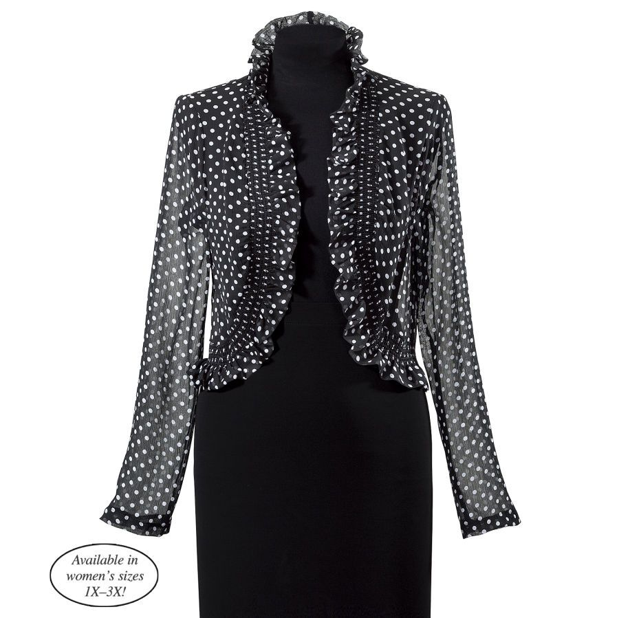 Polka Dot Jacket - Best Selling Gifts, Clothing, Accessories, Jewelry and Home Décor