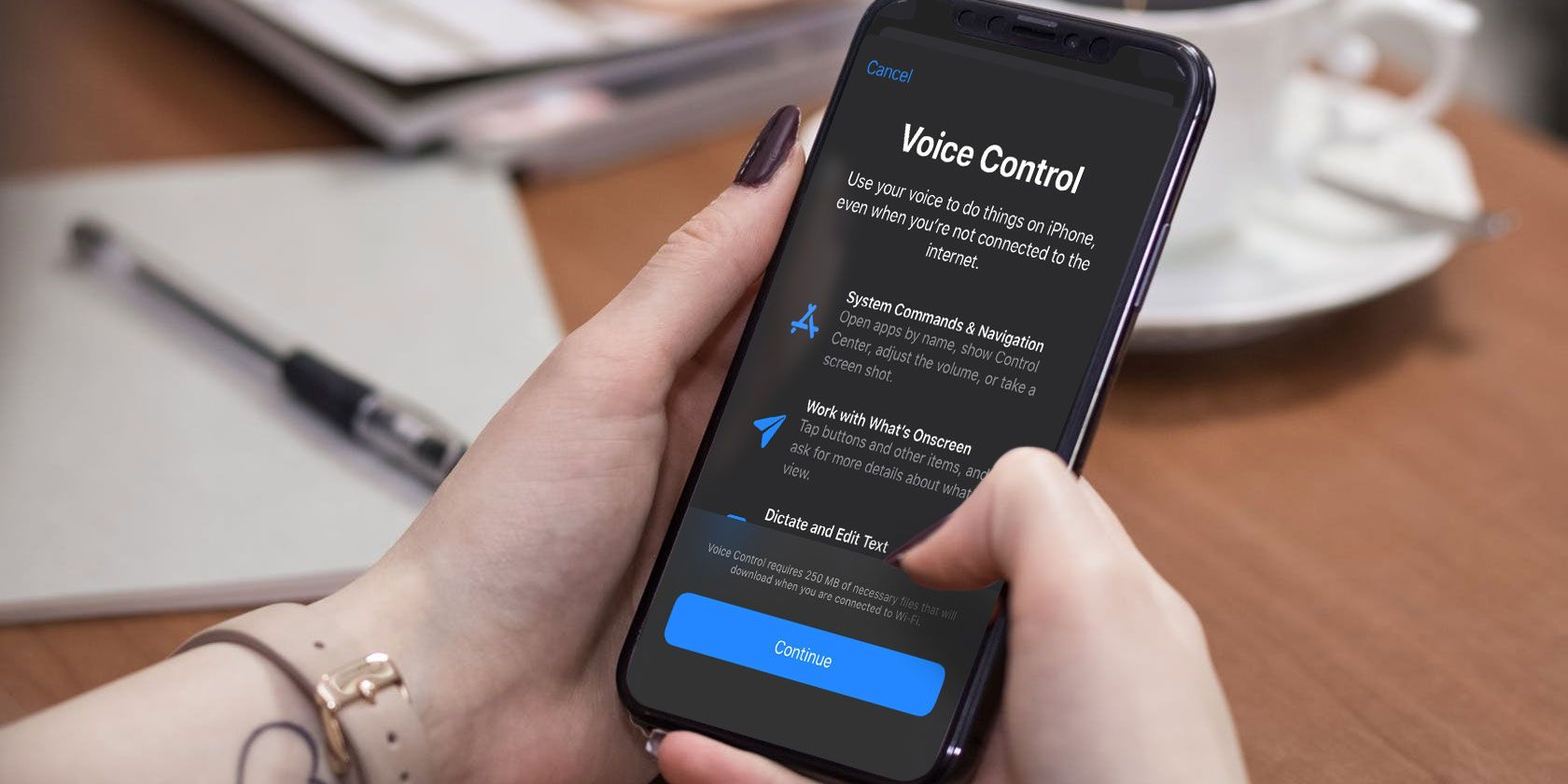 How to HandsFree Voice Control Your iPhone With iOS 13