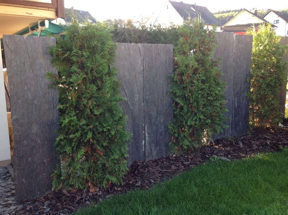 Garten Terrasse Außengestaltung Dekoideen Sichtschutz