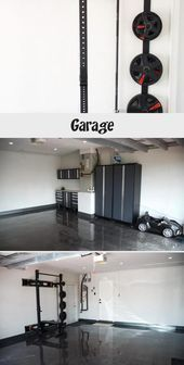 garage reno epoxy flooring garage storage garage gym