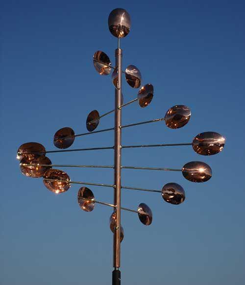 The Copper Works : Kinetic Wind Sculpture : Garden Art Sculptures .