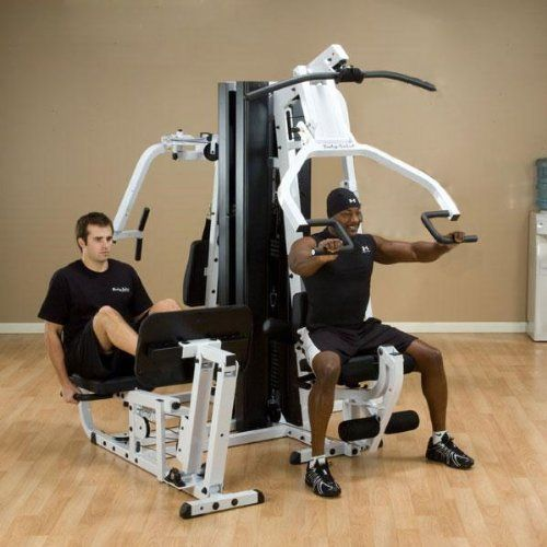 Body Solid Exm3000lps Double Stack Home Gym At Home Gym No Equipment Workout