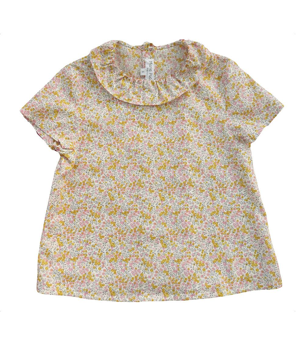 Marie Puce Paris French Fashion Designer For Children Bulle Liberty Shirt In 2020 Fashion Liberty Shirt French Fashion Designers