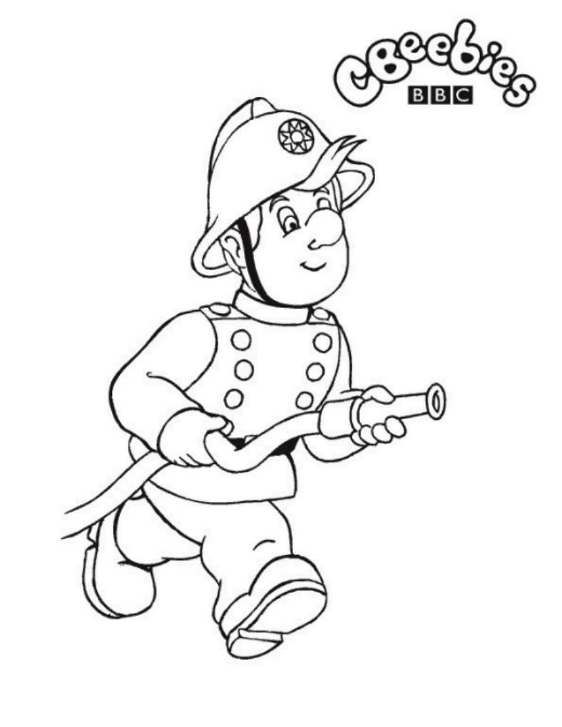 Brandweerman Sam Kleurplaat1 1 Jpg 788 1020 Brandweerman Kinderkleurplaten Brandweer