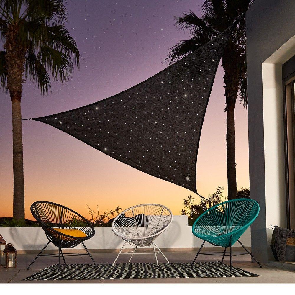 Voile Ciel Etoile A Led Tonnelle Pergola Voile Mobilier De Jardin Jardin Plein Air Gifi Patio Umbrella Patio Outdoor Decor